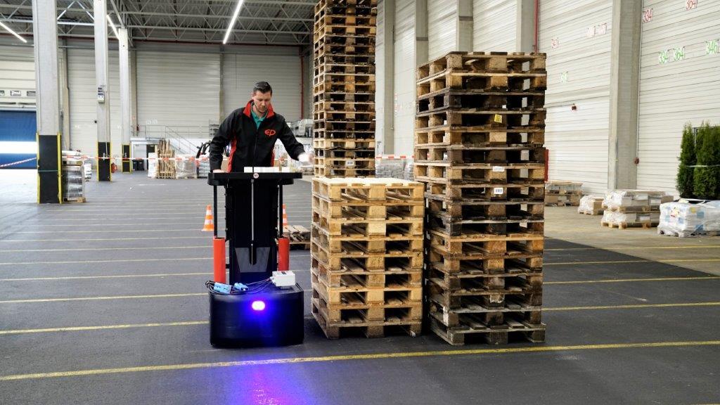 EP Order Picker In Warehouse Ireland